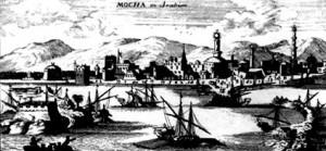 Mocha v roce 1692