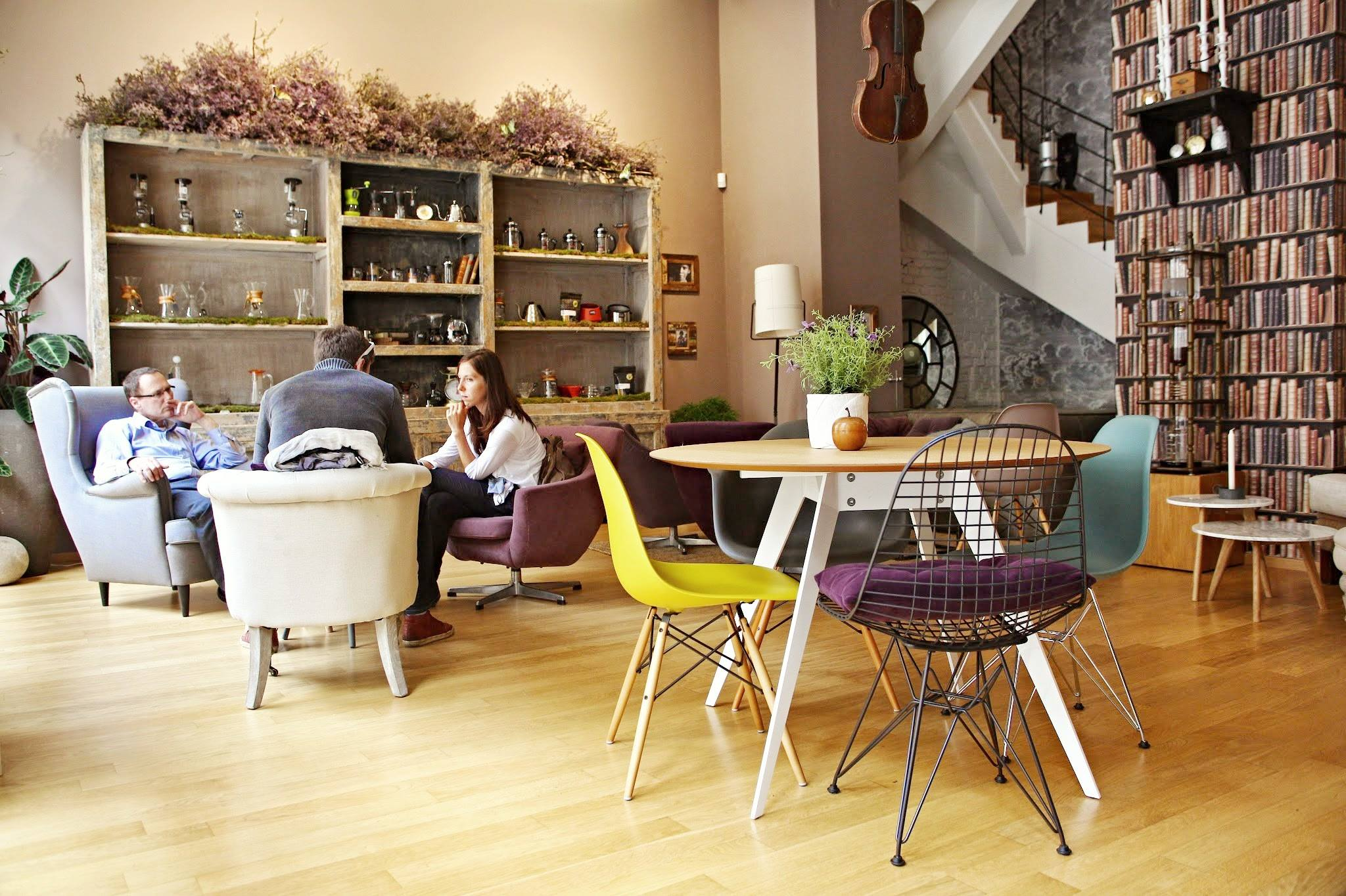 La Boheme Cafe Prague Menu